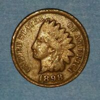 1898 INDIAN HEAD CENT   ID 52 94