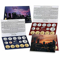 2008 US MINT UNCIRCULATED COIN SET U08