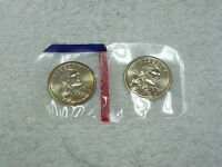 2003 P D SACAGAWEA DOLLARS   2 COINS   CHOICE TO GEM BU IN MINT CELO