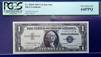 $1 1935G SILVER CERTIFICATE FR1616 NO MOTTO C/J BLOCK  UNCIRCULATED