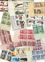 $36.00 FACE VALUE IN A VARIETY OF MINT US W/PBS & SETENNANTS
