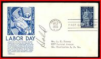 1956 US LABOR DAY C STEPHEN ANDERSON FDC FIRST DAY COVER