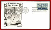 1955 US SOO LOCKS DAY LOWRY FDC FIRST DAY COVER