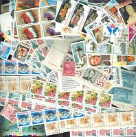 322 US MINT 25 CENT STAMPS WITH $80.50 POSTAGE VALUEINCLUDES MANY PNCS OF FIVE