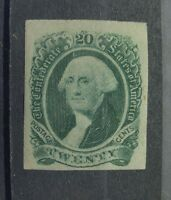 GSTAMPS FREE SHIPPING USA CONFEDERATE STATES MNG OLD STAMP