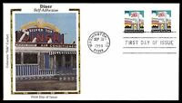 US 1998 COLORANO SILK  DINER SELF ADHESIVE COIL DINER FDC FIRST DAY COVER