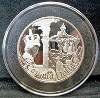 CANADA 2002 PROOF STERLING SILVER DOLLAR QEII SILVER JUBILEE IN AIR TIGHT