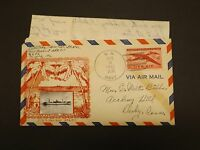 1947 U.S.S.  NEW KENT APA-217 CROSBY STYLE  WITH 3 PAGE HANDWRITTEN  LETTER