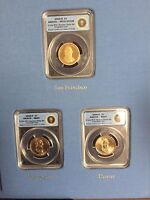 US PRESIDENTIAL LIBRARY SET 12 COINS ICG PF70 & MINT STATE 67 COINS - 2008