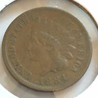 1884 INDIAN HEAD CENT   NICE DETAIL   CSTCOINS