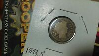 5 BETTER DATE BARBER DIMES 1893 S ,1894 ,1895 S 1896 S 1913 S TAKE A LOOK