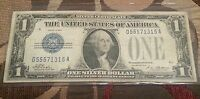 1928A $1 SILVER CERTIFICATE F CONDITION   TATE AND MELLON  FR 1600