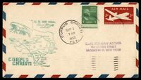 MAYFAIRSTAMPS US CORPUS CHRISTI TX SEP 3 1950 FF AM 82 AIR MAIL COVER W/ SAN ANT