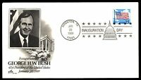 MAYFAIRSTAMPS GEORGE W BUSH HOUSTON TX 1989 PRESIDENTIAL  COVER