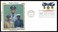 MAYFAIRSTAMPS US FDC 1983 WA DC JUN 7TH MEDAL OF HONOR COLORANO SILK 20 UNADDRES
