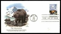 MAYFAIRSTAMPS US FDC 1981 RENO NV JUN 26TH THE MOUNTAINS BALKE 18 UNADDRESSED UN