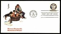 MAYFAIRSTAMPS US FDC 1978 WA DC OCT 18TH NORMAN ROCKWELL FIRST POST FLEETWOOD 15