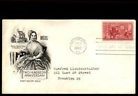 MAYFAIRSTAMPS US FDC 1952 BETSY ROSS PHILADELPHIA HOMEPLACE STEELCRAFT 3 UNSEALE