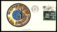 MAYFAIRSTAMPS SKYLAB I CONRAD KERWIN WEITZ 1973 SPACE KENNEDY CENTER COVER