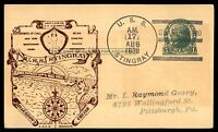 MAYFAIRSTAMPS USS STINGRAY 1938 GUANTANAMO NAVAL CARD AUGUST 17