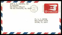 MAYFAIRSTAMPS USS MIDWAY NAVAL COVER APRIL 5 1974 CVA 41