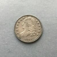 1831 CAPPED BUST DIME EF