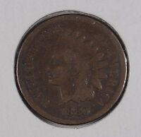 1880 1C BN INDIAN CENT GOOD CONDITION 163929