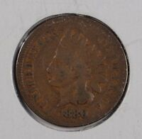 1880 1C BN INDIAN CENT GOOD CONDITION 162549