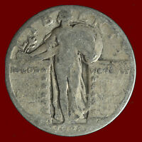 1928 S STANDING LIBERTY 90 SILVER QUARTER SHIPS FREE. BUY 5 FOR $2 OFF