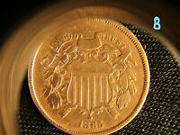 1865 U.S. COIN: BRONZE TWO CENT