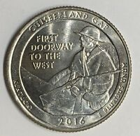 2016 D CUMBERLAND GAP NATIONAL PARK QUARTER BU