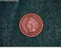1864 1865 1C INDIAN HEAD CENT  5,11-133