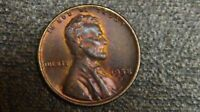 LINCOLN CENTS 1958 D UNCIRCULATED MS THIS PENNY IS IN ORIGINAL COLOR REAR