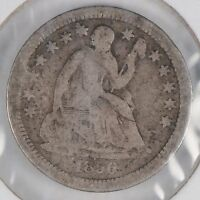 1856 H10C LIBERTY SEATED HALF DIME GOOD CONDITION 172548