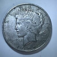 1922 D PEACE SILVER DOLLAR FROM COLLECTION