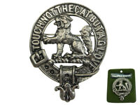 SCOTTISH NEW SCOTLAND CREST PIN BADGE: MACPHERSON CLAN BADGE
