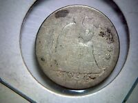 1854 UNITED STATES LIBERTY SEATED HALF DIME WITH ARROWS TYPE