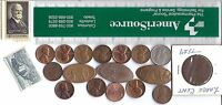 USA PENNIES LOT 4 CENT STAMPS LARGE 1829 SOUVENIR COLUMBUS ZOO FORD THEATRE COIN