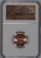 2010 1C LINCOLN CENT FIRST DAY OF ISSUE NGC BU