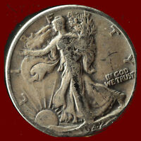 1942 P WALKING LIBERTY 90  SILVER HALF SHIPS FREE. BUY 5 FOR $2 OFF