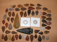 INDIAN BUFFALO & LIBERTY NICKEL W/ 50  ARROWHEADS/SPEARHEADS TEXAS ESTATE 3 15