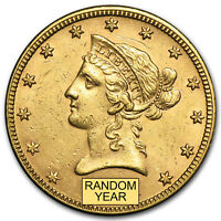 $10 LIBERTY GOLD EAGLE AU  RANDOM YEAR    SKU 1123