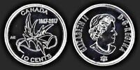 CANADA 2017 150TH MY INSPIRATION 10 CENT CIRCULATION COIN   WINGS OF PEACE