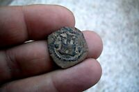 A66  2 CUARTOS PHILIP II 1556 1598  CORUA MINT SPANISH COLONIAL PIRATE COIN