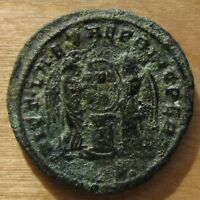 CONSTANTINE THE GREAT VICT . LAETAE PRIN PERP AE 3 FROM SISCIA MINT