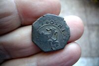 A66  NICE 4 MARAVEDIES PHILIP III 1603 BURGOS MINT SPANISH COLONIAL PIRATE COIN