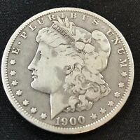 1900 O  MORGAN SILVER DOLLAR CIRCULATED