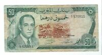 MOROCCO   1970 FIFTY  50  FRANCS