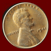 1941 P WHEAT CENT SHIPS FREE. BUY 5 FOR $2 OFF