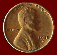 1956 D WHEAT CENT SHIPS FREE. BUY 5 FOR $2 OFF